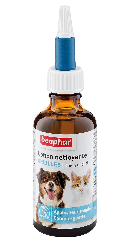 Beaphar - Lotion nettoyante, soin des oreilles - chien et chat - 50 ml lotion nettoyante chien lotion nettoyante chat soin des oreilles chat soin des oreilles chien