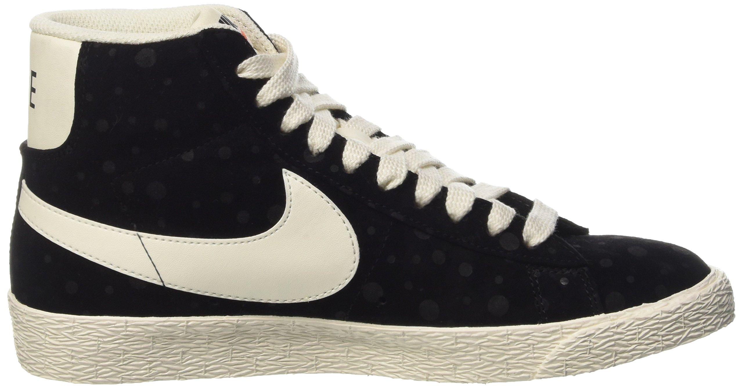 Nike Women's Blazer Mid Suede Vintage Black/White 518171-015 (SIZE: 8) by NIKE (Image #6)