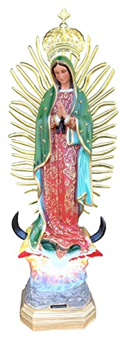 36 Our Lady of Guadalupe Virgen De Guadalupe New Hecho en Mex Jal.