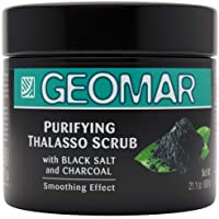 Exfoliating Charcoal Scrub | 21oz Natural Charcoal Body Scrub, Powerful Formula to Help Reduce Wrinkles, Acne, Psoriasis, Blemishes, Eczema and Dry Skin