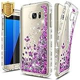 S7 Edge Case, Galaxy S7 Edge Glitter Case w/[Screen