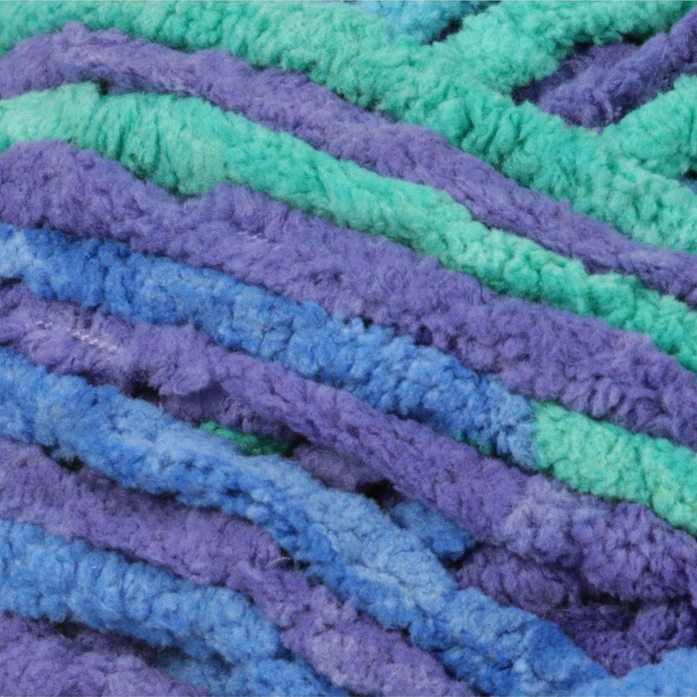 1 Ball 10.5 oz Misty Green Bernat Blanket Yarn
