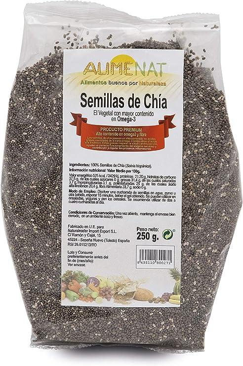 Naturlider Semillas De Chia 250 Gr Bolsa 250 Gr - Salvia ...