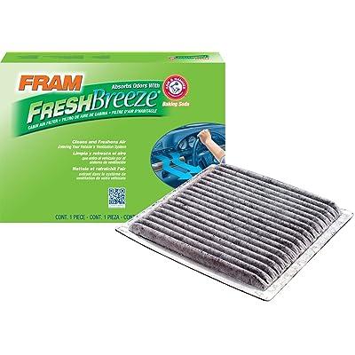 FRAM FCF10139 Fresh Breeze Cabin Air Filter with Arm & Hammer: Automotive