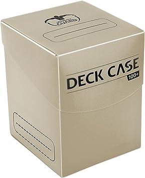 Ultimate Guard Deck Case 100+ Caja de Cartas Tamaño Estándar Beige ...