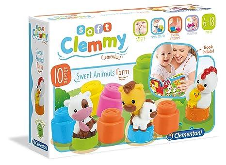 a23ce562b7 Clementoni 17174 - Mamma e Cuccioli della Fattoria: Amazon.it ...