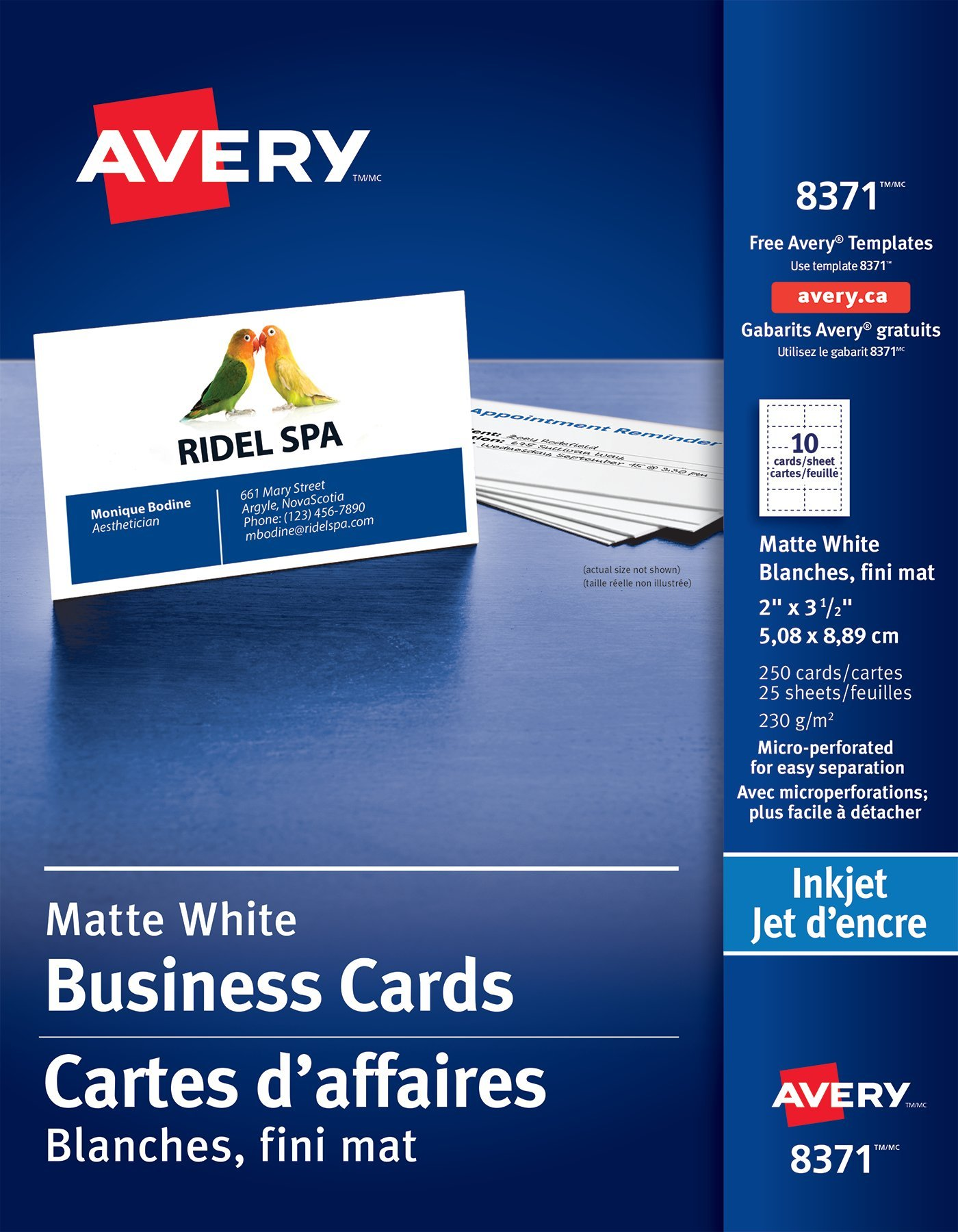 Business Cards: Amazon.ca
