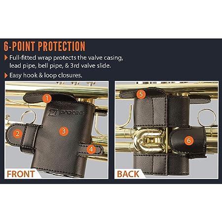 Pro Tec 6 Point Trumpet Leather Valve Guard
