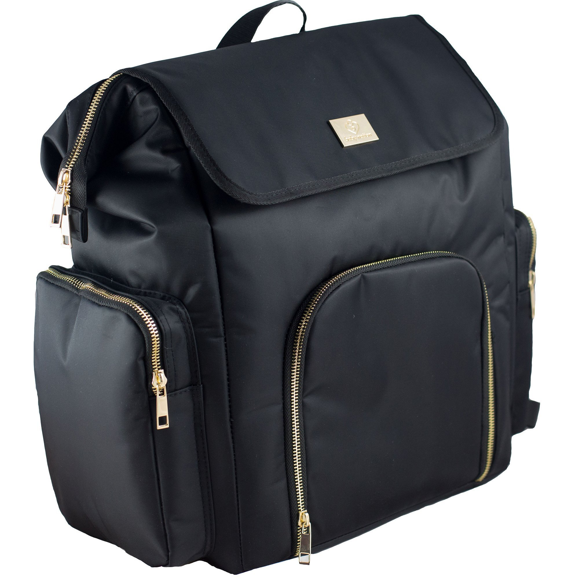 Breast Pump Backpack by The Baby Nation - Also Used as Diaper Bag - Fully Insulated and Super Comfy - Cooler Pockets Great for Work or Travel - Fits All Major Brands Including Medela and Spectra