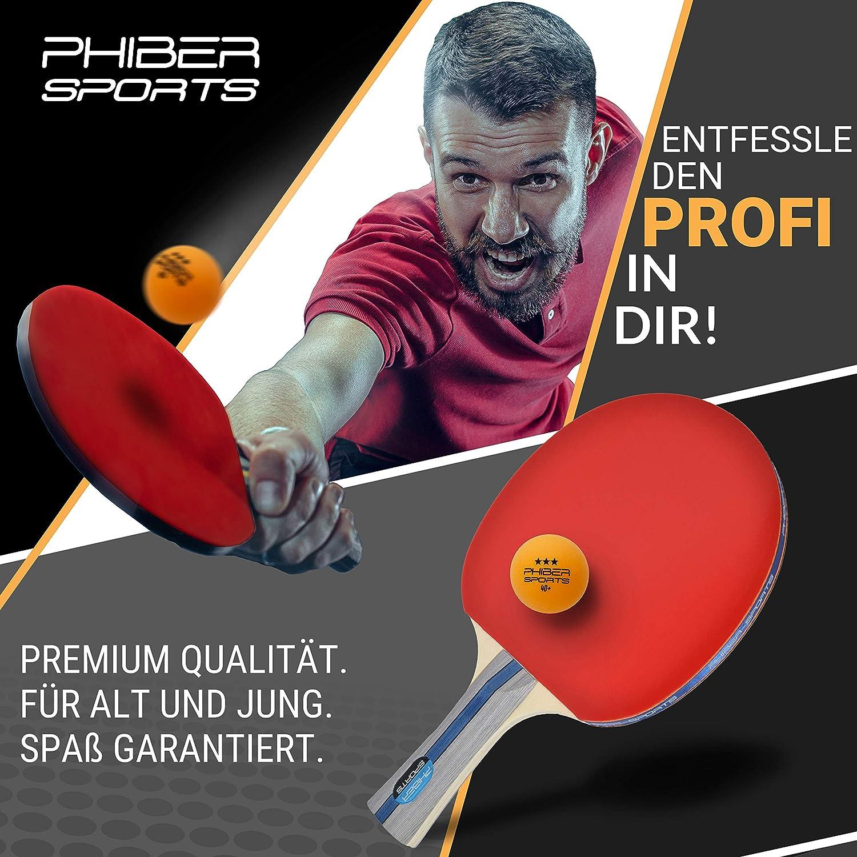 Orange 24 Stück Perfekte Spieleigens SPORTS Premium Tischtennisbälle 3 Stern