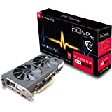 Sapphire 11266-04-20G Radeon PULSE RX 570 4GB GDDR5 DUAL HDMI/DVI-D/DUAL DP OC with backplate (UEFI) PCI-E Graphics Card