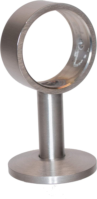 Handlauf Nickel matt Endkappe für 40mm Handlaufseile