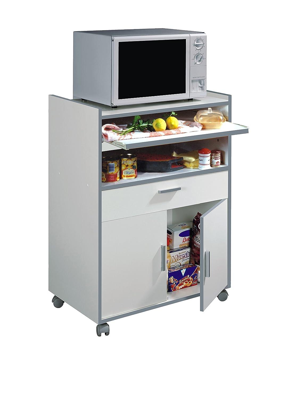 Habitdesign 009910O - Mueble auxiliar mesa cocina con un ...