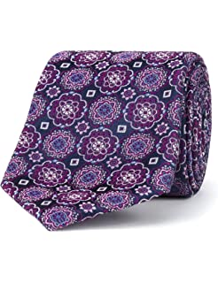 9fa84ab37a4b Stvdio By Jeff Banks Navy Intricate Paisley Tie - 0051035: Amazon.co ...