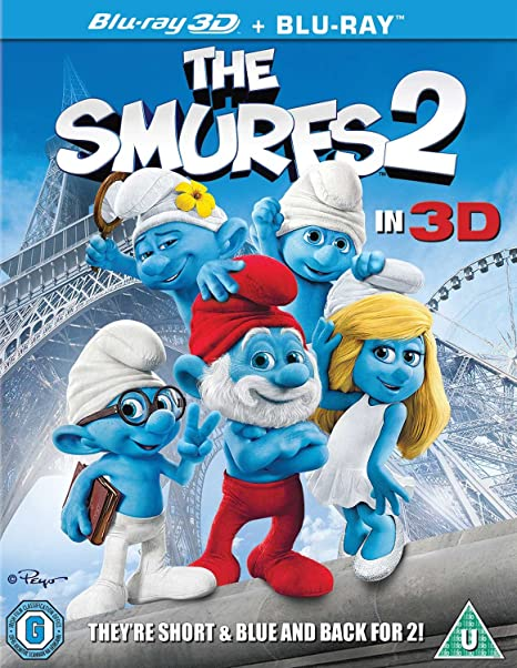Amazon.com: Los Pitufos 2 en 3d Blu-ray + UV: Electronics