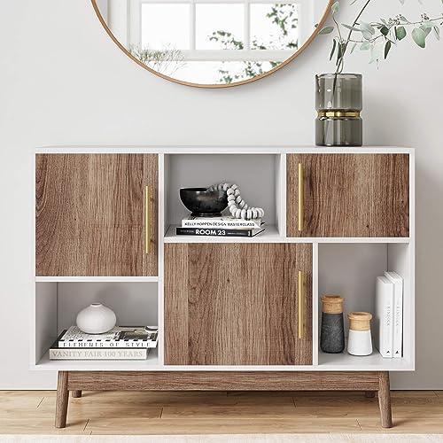 Nathan James Ellipse Multipurpose Display Storage Unit Entryway Furniture