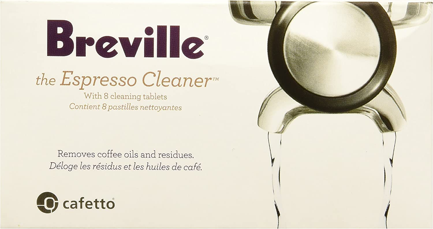 Breville BEC25000US1 BEC250 Espresso Cleaning Tablets (8), white 81oC-WsrJ3L