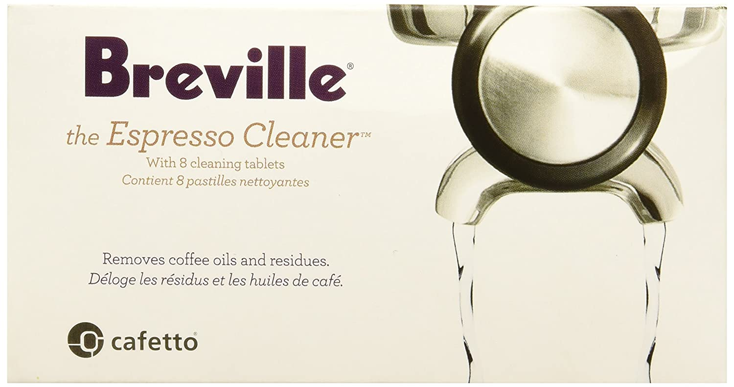 Breville BEC25000US1 BEC250 Espresso Cleaning Tablets (8), white