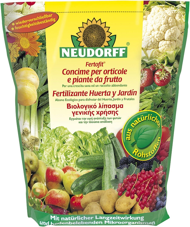 Neudorff Fertofit Fertilizante Huerta y jardín, Amarillo, 19.5x9x31 cm: Amazon.es: Jardín