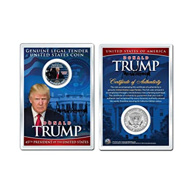 DONALD J. TRUMP 1-20-2020 INAUGURATION JFK Half Dollar Coin in PREMIUM HOLDER: Everything Else