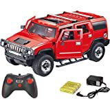 Webby 1:16 Remote Controlled Hummer Car With Opening Doors (Red)