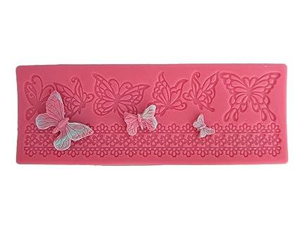 De la mariposa de Estera de moldes de silicona, molde, decoración para tartas,