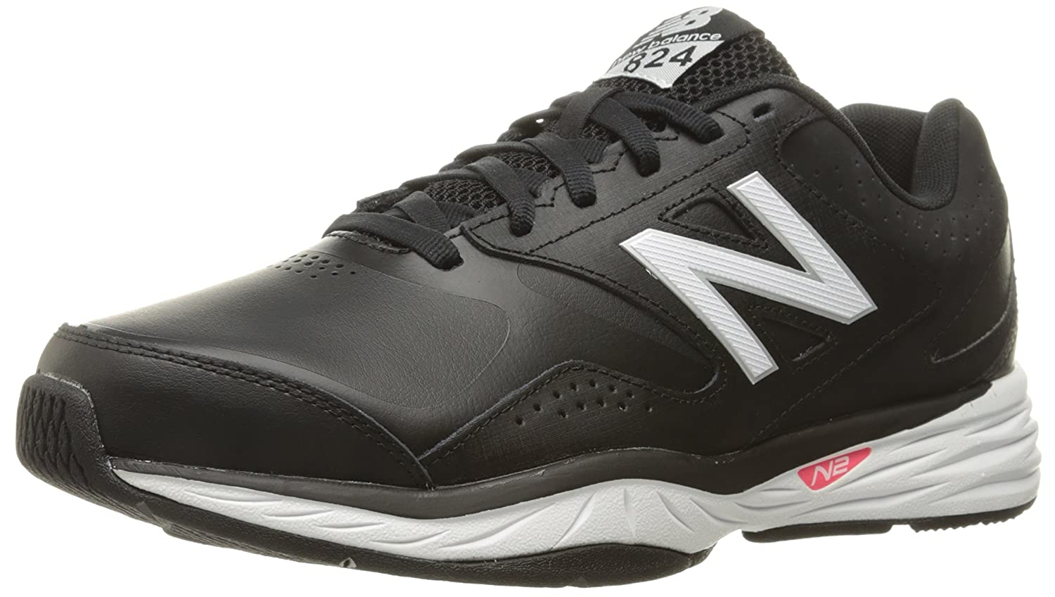 New Balance Women's WX824 Training Shoe B01FSILORQ 5 B(M) US|Black