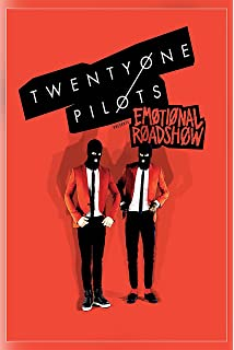 Amazon panic at the disco poster 2017 death of a bachelor twenty one pilots music bands emotional road show poster print 12x18 inch m4hsunfo
