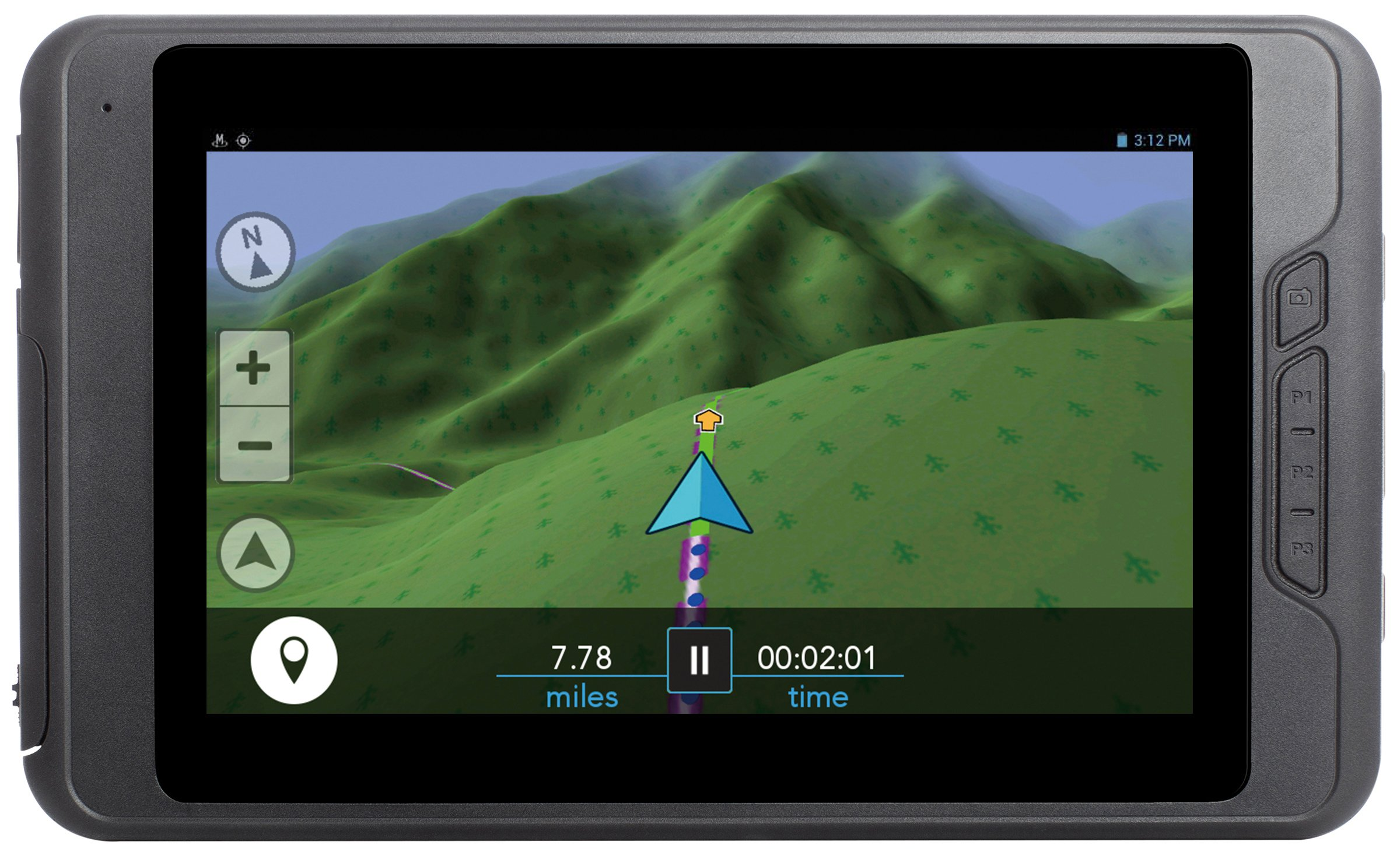 Magellan TRX7 CS Trail and Street GPS Navigator with 5MP Rear Facing Camera and RAM Multi-Mount