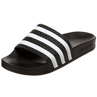 official photos 94e40 22a04 adidas Originals Womens Adilette Slide, BlackWhite, ...