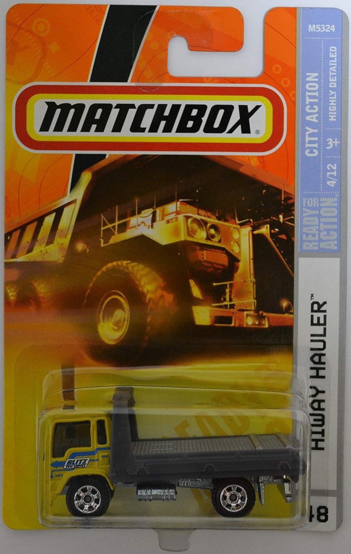 Hiway Hauler #48 Yellow Mattel Matchbox City Action Series 1:64 Scale Die Cast Car