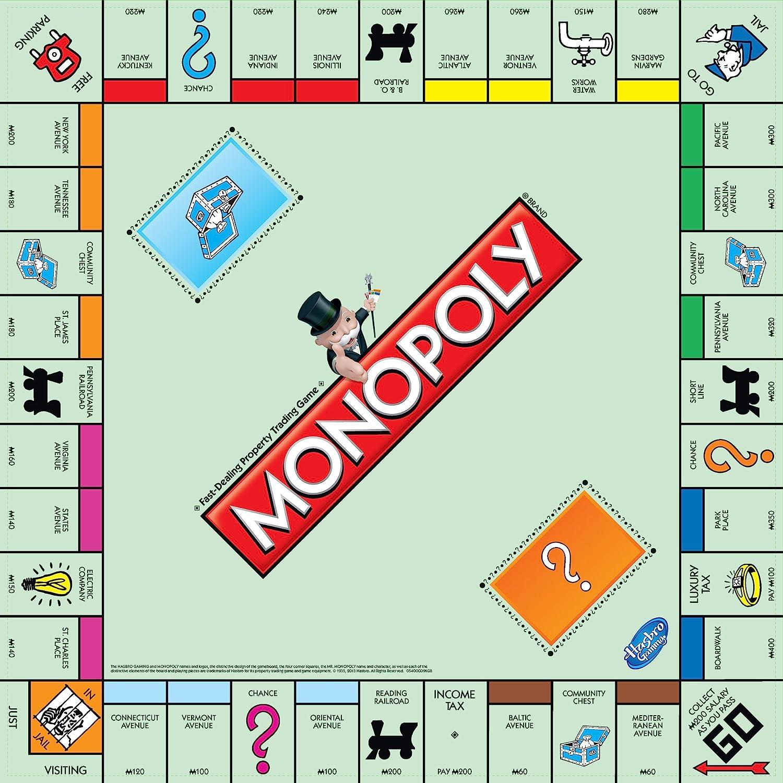 Amazon Hasbro Monopoly Board Game Toys Games