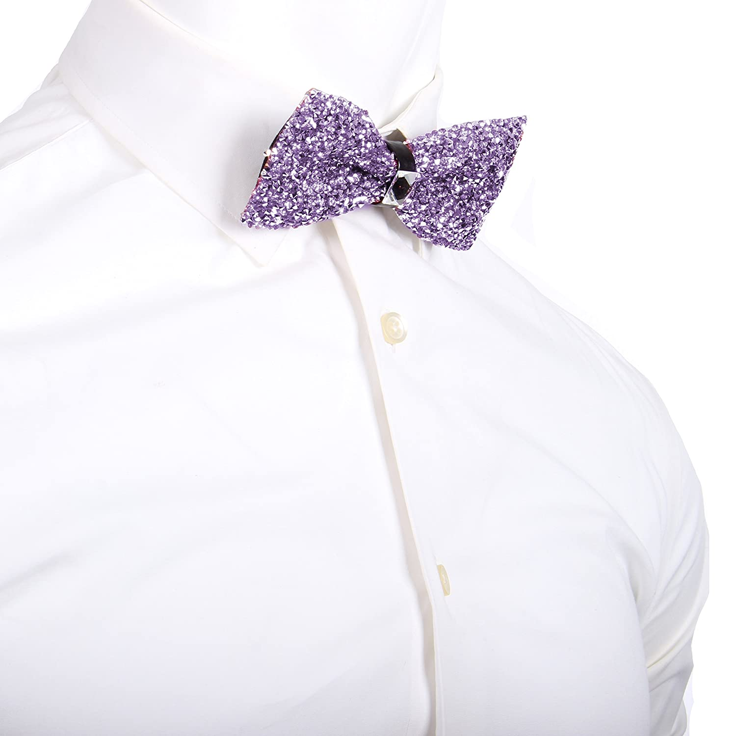 Enimay Mens Fancy Formal Dress Event Prom Dance Wedding Bling Shinny Bow Tie