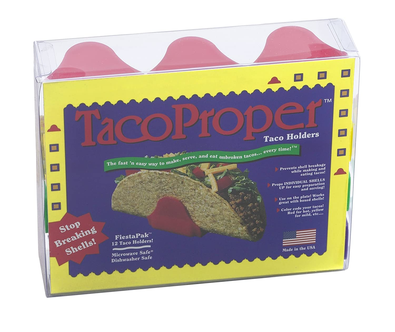 Set of 4 Taco Holders The TacoProper Made in America