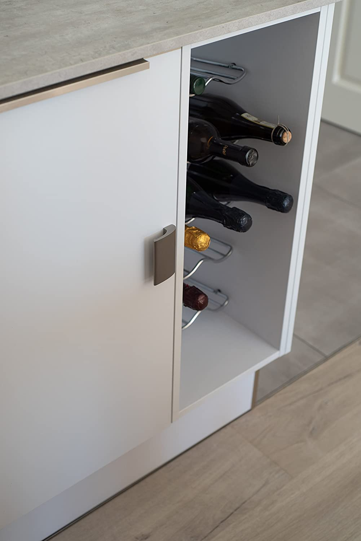/LUXURY de aluminio/ Mango Incluye Tornillos/ /Diferentes colores Blanco