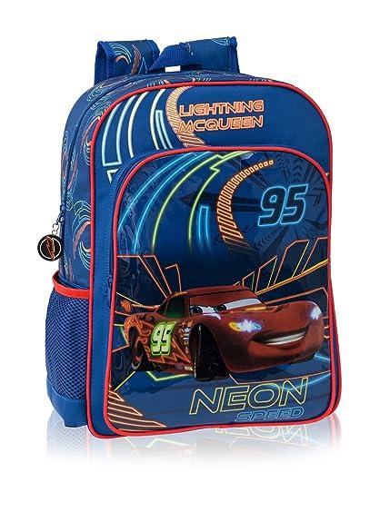 Disney Mochila Mochila Adap.Cars Neon Azul: Amazon.es: Zapatos y complementos