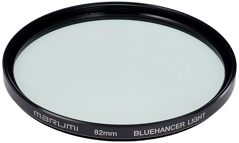 japan import Marumi Filter Blue Hanserite For Camera 82 mm Blue Emphasis 263146
