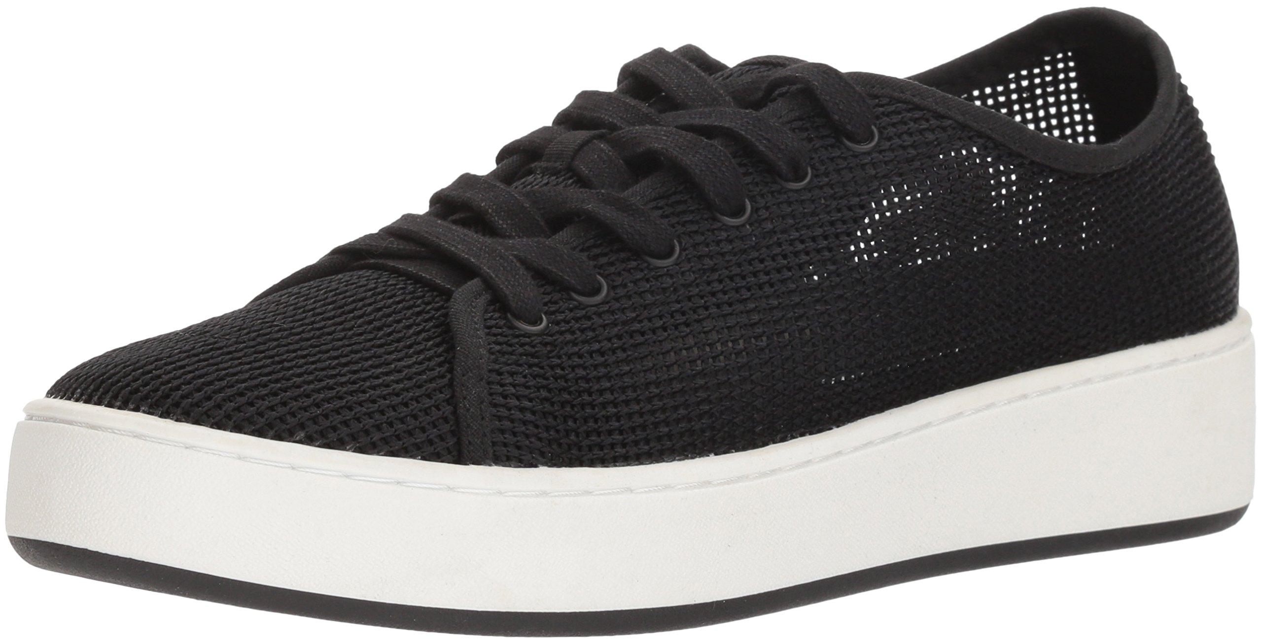 Donald J Pliner Women's Cecile Sneaker, Black, 8.5 Medium US