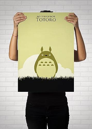My Neighbor Totoro Poster // Hayayo MiyazakiPrints // Vintage Totoro ...