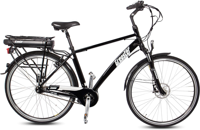 gregster Hombre Bicicleta eléctrica gs28h, Negro, 28 pulgadas ...