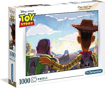 Clementoni 39491 Toy Story - Puzzle (1000 Piezas), diseño de ...