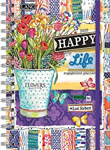 Lang Happy Life 2020 Spiral Engagement Planner (20991011109)