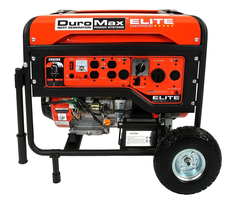 Amazon DuroMax Elite Series Watts 16 0 Hp Gas Generator