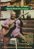 Ki Ho'Alu: That's Slack Key Guitar [DVD] [Import]