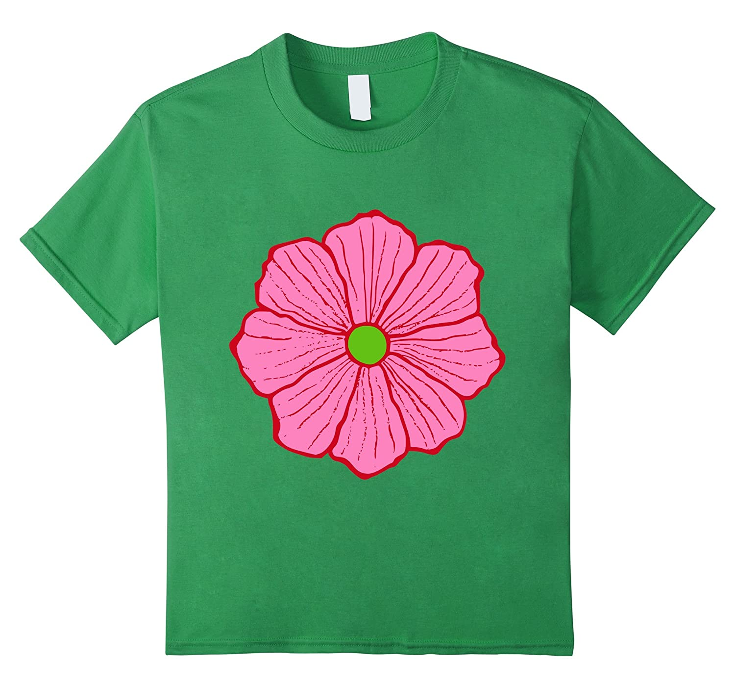 Amazon Pink Hawaiian Flower T Shirt Clothing