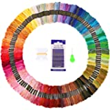 Embroidery Floss Thread 150 Skeins Rainbow Colors SOLEDI Craft Floss for Friendship Bracelets with Embroidery Tools