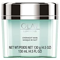Olay Regenerist Luminous Overnight Facial Mask Gel Moisturizer with Vitamin C &...