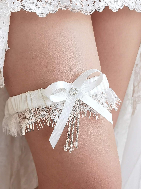Satin University of North Carolina Tar Heels Inspired Wedding Garter Set Your Choice, Single or Set