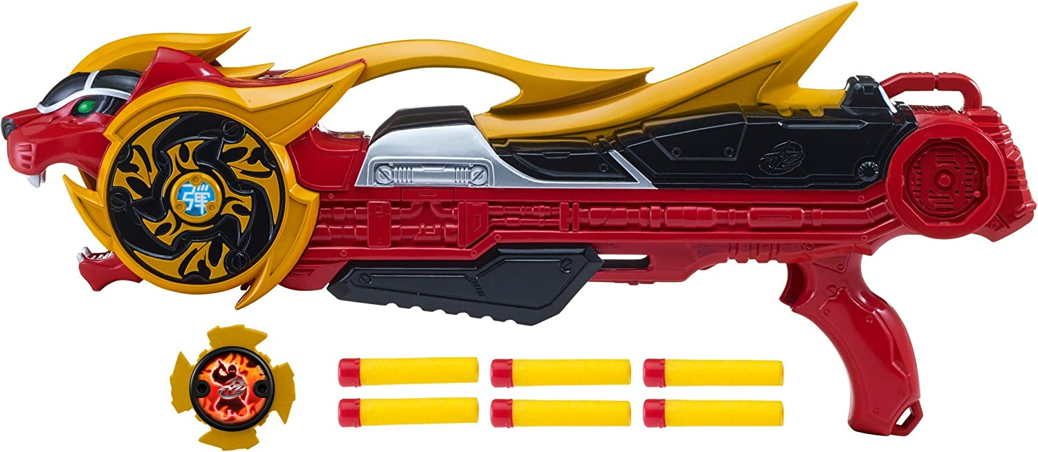 Amazon.com: Power Rangers Super Ninja Steel Blaster with 6 ...