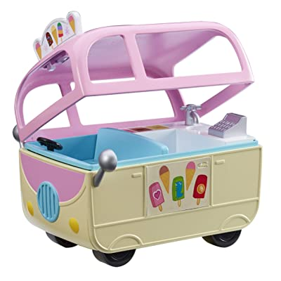 Peppa Pig 7153 Mini ICE Cream Van: Toys & Games